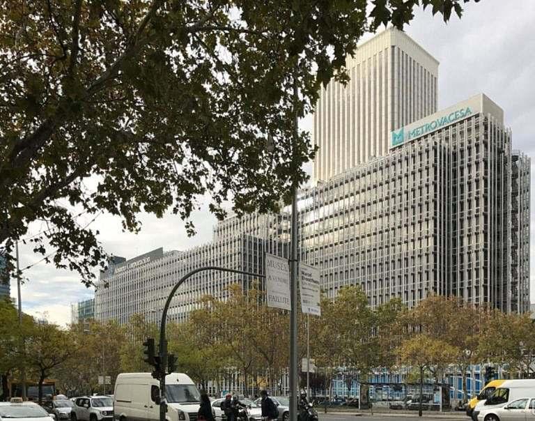 edificio exclusivo de oficinas en paseo de la castellana 91 madrid